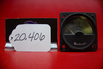 Hickok Electrical Inst. Fuel Quantity PN A-1158-5, 58-380051-5