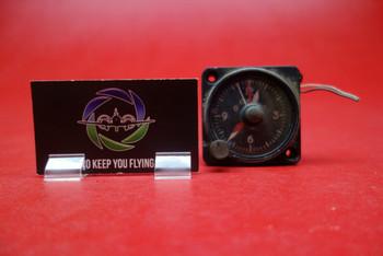 Beechcraft, Aircraft Instrument Clock 28V PN 58-380015-3,16B102-3