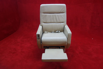 EDRA Inc. Grumman G-1159 Gulfstream 3019(D) FWD Seat w/ Seat Belt, PN 303479-17 (CALL OR EMAIL TO BUY)