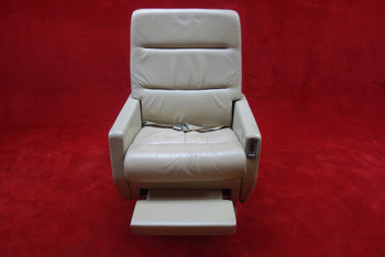 EDRA Inc. Grumman G-1159 Gulfstream 3019(D) FWD Seat w/ Seat Belt, PN 303479-18 (CALL OR EMAIL TO BUY)