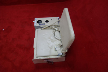 AirResearch Aviation Grumman G-1159 Gulfstream 109-82-036 Cockpit Jump Seat w/ Seat Belt (CALL OR EMAIL TO BUY)