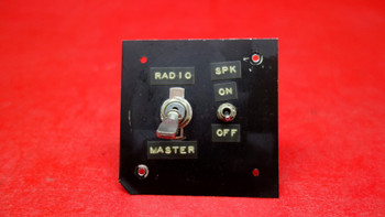 Aircraft Instrument Panel Switch