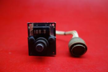 Aircraft VHF NAV Control Indicator