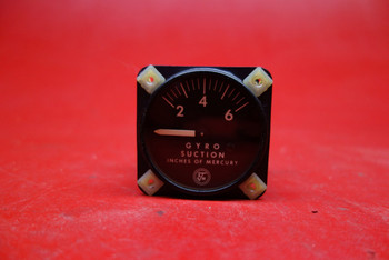 Airborne 1G3-4 Gyro Suction Gauge