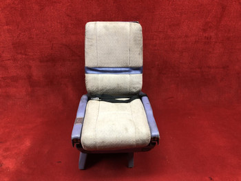 Rockwell Commander  685 FWD/AFT Seat w/ Lap Belt PN 1210-501 (EMAIL OR CALL TO BUY)