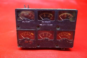Weston Instruments Instrument Cluster 28V PN 22-169-024-2
