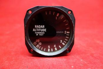 Bonzer Radar Altitude Indicator 14V PN 104-0031-00