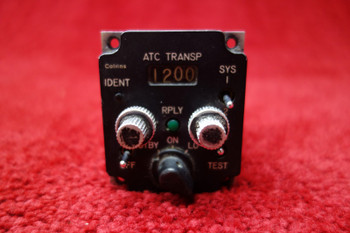 BVR Inc 613L-3 Transponder Control PN 270-2436-050, 275175-103
