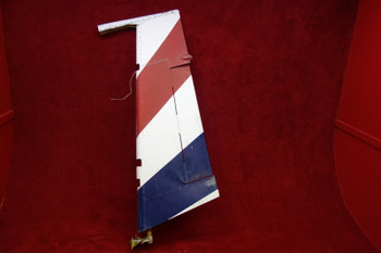 Piper PA-23-250 Aztec Rudder PN 16199-18, 16199-018 (EMAIL OR CALL TO BUY)