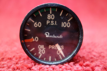 Thomas A. Edison Industries Oil  Pressure Indicator PN 217A-100K-D6