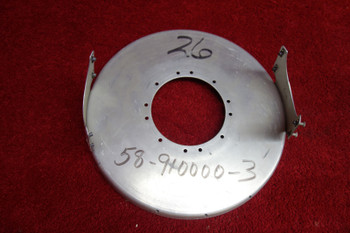 Beechcraft 55, 58 Baron Propeller  Spinner Bulkhead PN 58-910000-3