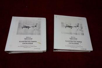 De Havilland Aircraft DHC-6 Illustrated Parts Catalogue Vol 1 & 2 PN PSM 1-6-4