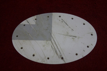 Bombardier Learjet Access Door Fuel Panel PN GM119-1501-4-901, GM116-1551-4