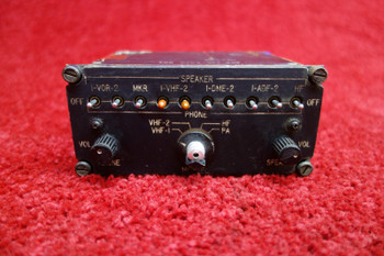 Aircraft Audio Panel PN65E-142-5070-001