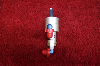 Fluid Power CRU-18/A Oxygen ON/OFF Toggle Valve PN 2440, 1660-774-1337