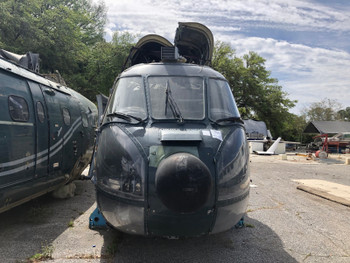 1979 SNIAS SA 330J Puma Helicopter Fuselage (CALL OR EMAIL TO BUY)
