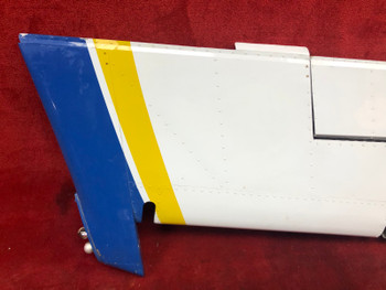Beechcraft E-55 Baron Rudder W/ Trim Tab PN 96-630000-639 (CALL OR EMAIL TO BUY)