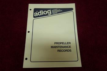 Aerotech Publications Propeller Maintenance Records Log