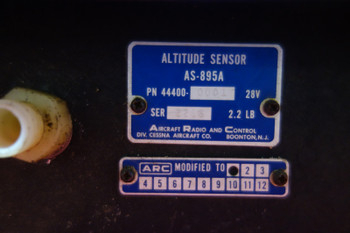 ARC AS-895 Altitude Sensor 28V PN 44400-0001