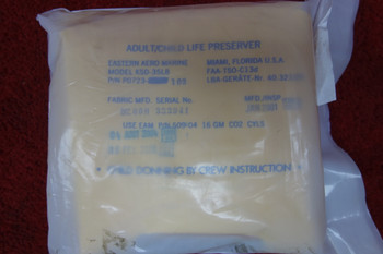Eastern Aero Marine KSD-35LB Adult/Child Life Vest, PN P0723-103
