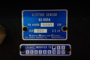 ARC AS-895 Altitude Sensor 28V PN 44400-0002