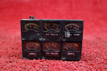 Edo-Aire 169V Instrument Cluster 28V PN 22-169-024-2