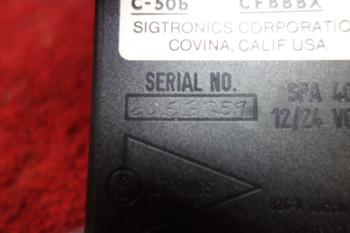 Sigtronics Corp. SPA-400, C-50b Intercom 12/24V