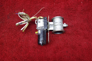 Airesearch Rotary Actuator W/ D.C. Motor & Butterfly Valve 26-28V PN 540468-3-1