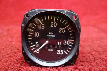 Mitchell Aircraft Products 98480-25 Mechanical Recording Tachometer PN D1-112-5025