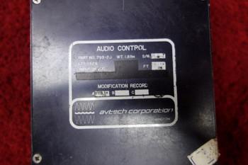 Avtech Corporation LES1162A Audio Control 28V PN 793-20