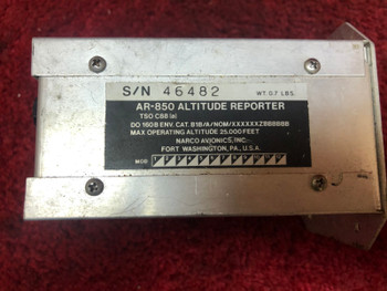 Narco AR-850 Altitude  Reporter