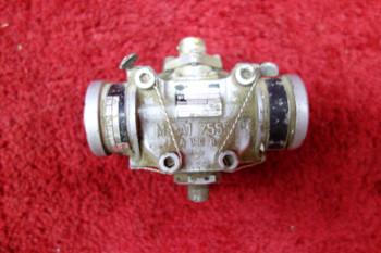 Messier Hispano Electro Valve PN A3-24729, 67.523.327.00, 67-523-327-00, A.24719