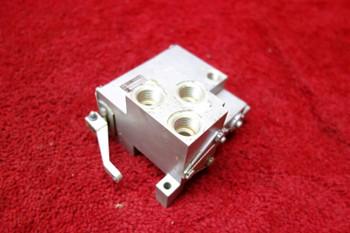 Messier Hispano Selector Valve PN A25048-1, 67.523.403.01, 67-523-403-01
