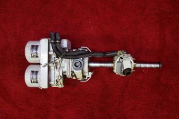 Lear Siegler, Lucas, Canadair 22284-000, 21207-007 Linear Actuator W/ Aircraft AC Motor 115-200V PN 600-92301-63