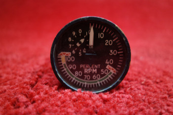 General Electric Electrical Tachometer Indicator PN 8DJ81-LWS2