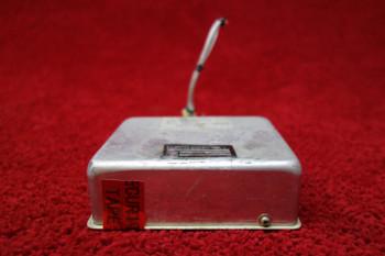 Gates Learjet Remote Battery Switch Relay Box PN 5588208(E248), 5588208-3