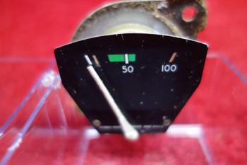 Stewart Warner Oil Pressure Gauge PN 818642, 444640