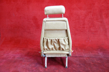 Beechcraft 95 Travel Air Passenger Rear Seat W/ Seatbelt PN 95-534018 (EMAIL OR CALL TO BUY)