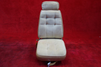 Beechcraft 95 Travel Air Rear Seat W/ Seatbelt PN 95-534041 (EMAIL OR CALL TO BUY)