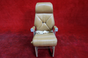 Beechcraft 65-A90 King Air RF AFT Facing Seat W/ Seatbelt PN 50-534486-28 (EMAIL OR CALL TO BUY)