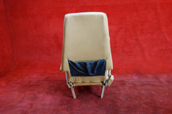 Beechcraft 65-A90 King Air RH FWD Facing Seat w/ Seatbelt PN 50-534486-22 (EMAIL OR CALL TO BUY)