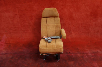 Cessna 414 AFT Facing Seat W/ Seatbelt PN 5619153 (CALL OR EMAIL TO BUY)