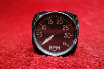 Consolidated Instrument Dual Tachometer PN 57-4AW, 25700-3