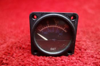 Cessna, Instruments Inc. Outside Air Temperature Gauge