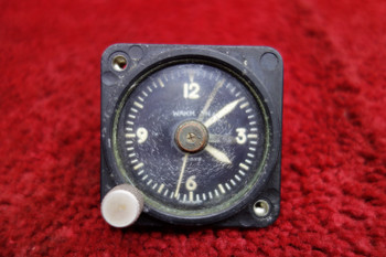 Wakmann 8 Day Aircraft Clock