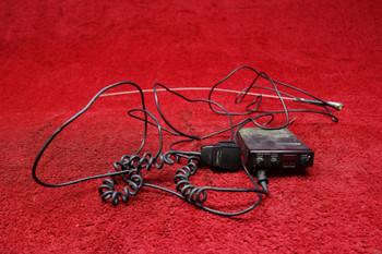Tandy TRC-415 Realistic CB Dynamic Microphone w/ Transceiver PN 21-1509A, 21-1172C