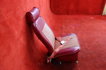 Piper PA-23 Apache LH Center Seat W/ Seatbelt PN 16481-02 (EMAIL OR CALL TO BUY)