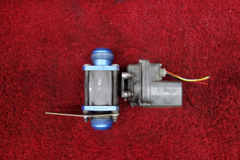 Circle Seal Controls Fuel Shutoff Valve 28V PN P41-791, 6600356-2