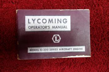 Lycoming O-320 Aircraft Engine Operator's Manual PN 60297-2