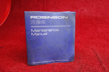 Robinson Helicopter R22 Maintenance Manual